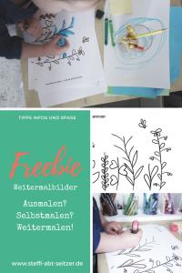 Pinterest weitermalen Bild Freebie