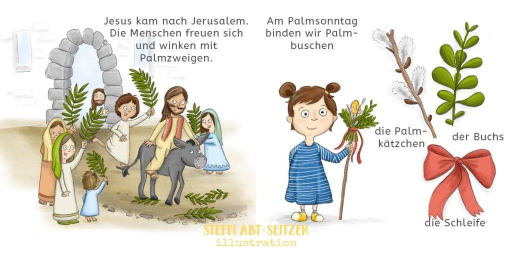 Steffi Abt-Seitzer - Illustration - Kinderbuch Ostern