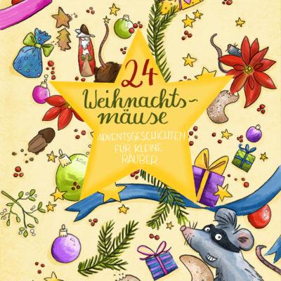 Steffi Abt-Seitzer - Cover - Weihnachtsmäuse - Illustrator Ulm Augsburg für Kinder