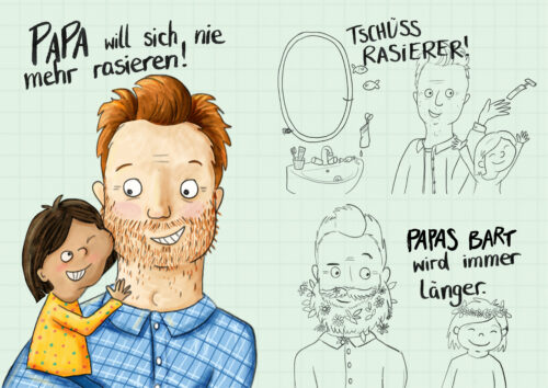 Steffi Abt-Seitzer Illustration Kinderbuch Günzburg Bayern Augsbug Ulm
