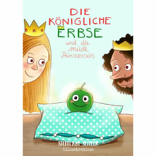 Steffi Abt-Seitzer Illustration Kinderbuch Portfolio Bayern Günzburg Augsburg Prinzesin Erbse